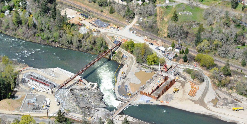 Savage Rapids Dam Removal